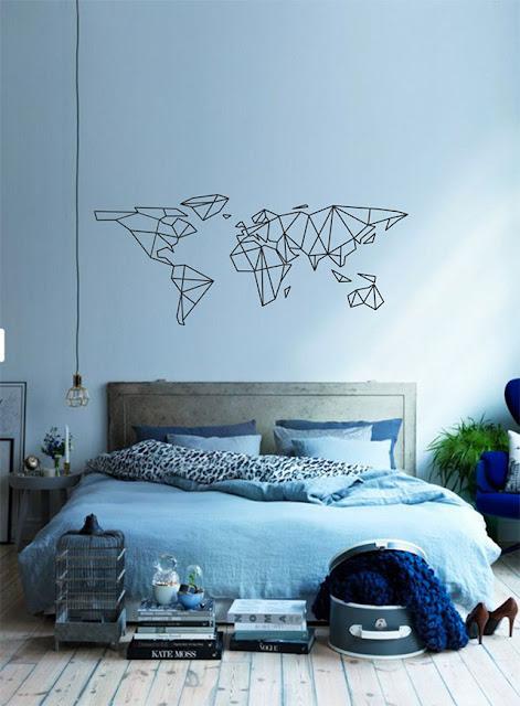decorar con mapas del mundo-2