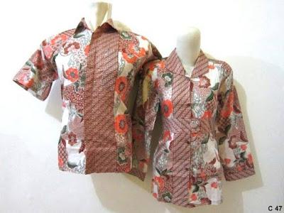Contoh Model Baju Batik Guru Modern