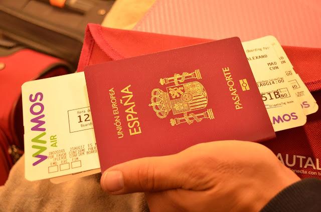 Pasaporte de viaje