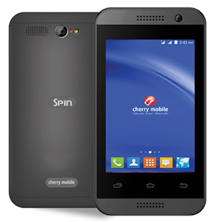 Cherry Mobile Spin 3G, Dual Core Android KitKat for Php1,699