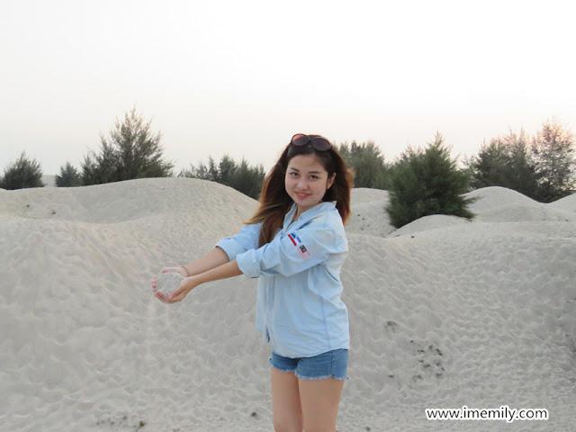Klebang Melaka Beachside : Desert in Malaysia