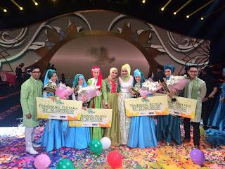 Pemenang Juara 1 Sunsilk HIjab Hunt 2016 Denta Haritsa asal Lombok