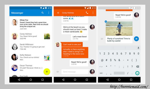 Iphone Texting App For Android
