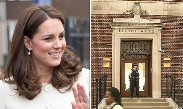 Kate Middleton, has gone into labour after arriving at the Lindo Wing of St Mary's Hospital for the birth of her third royal baby with Prince William