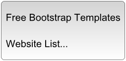 Free Bootstrap Templates and Themes Websites