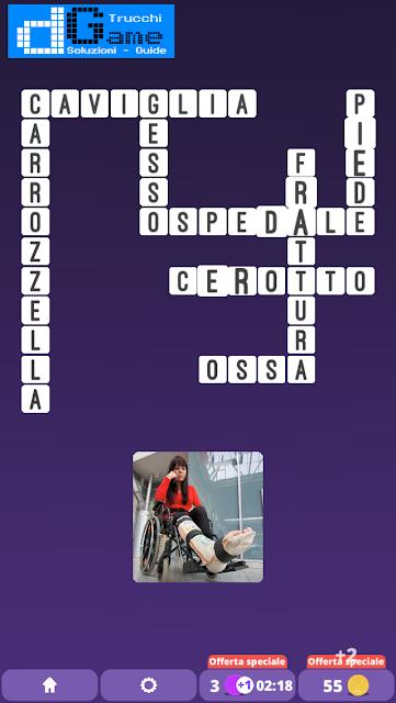 Soluzioni One Clue Crossword livello 8 schemi 11 (Cruciverba illustrato)  | Parole e foto
