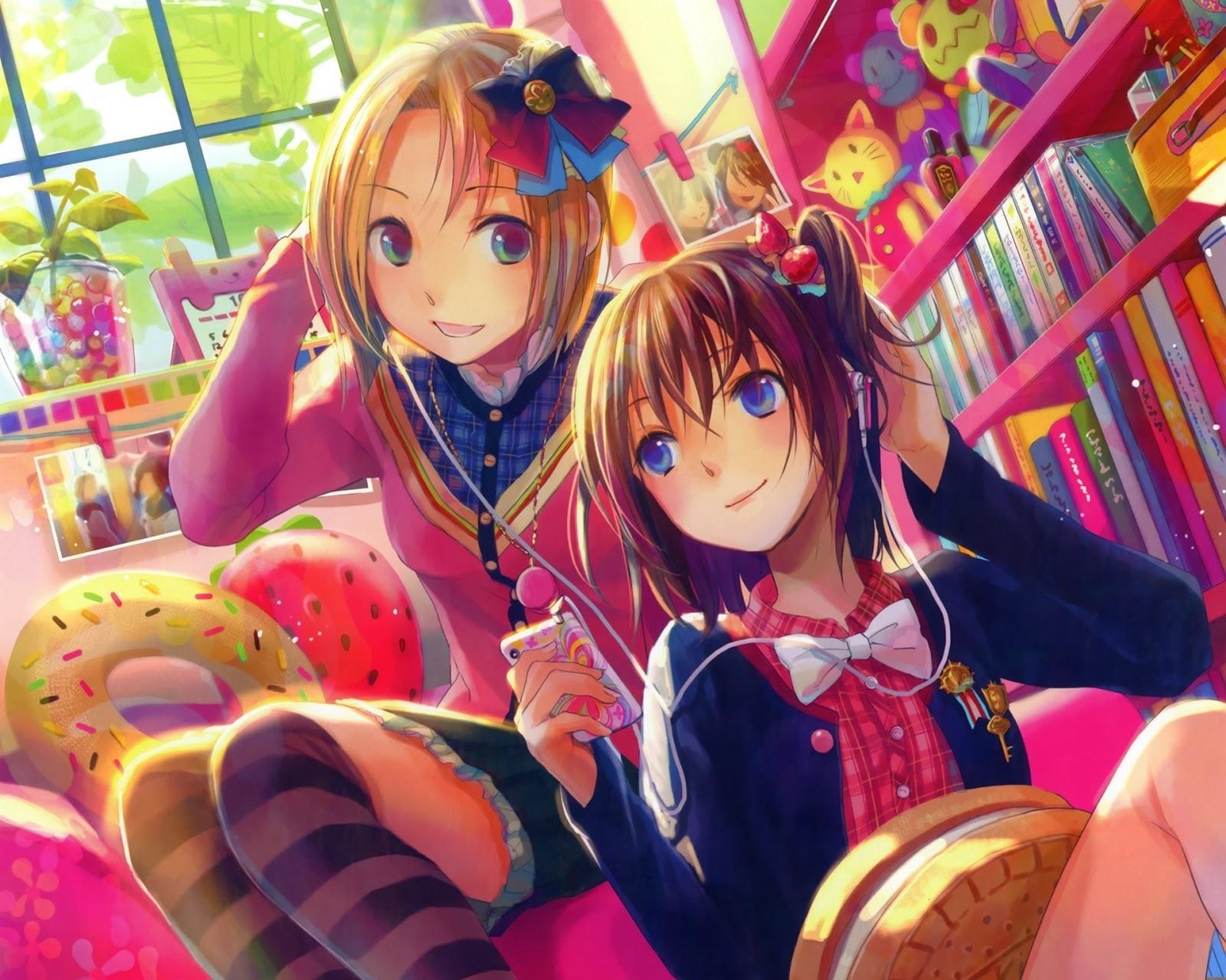 anime best friends wallpaper - photo #2