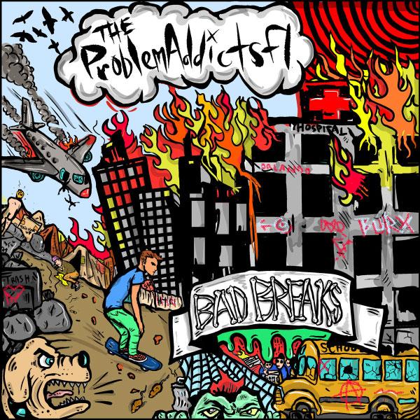 "The ProblemAddicts stream new album ""Bad Breaks"""