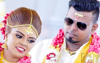 Malaysian Indian wedding Highlights of Kumaresan & Christine Antia