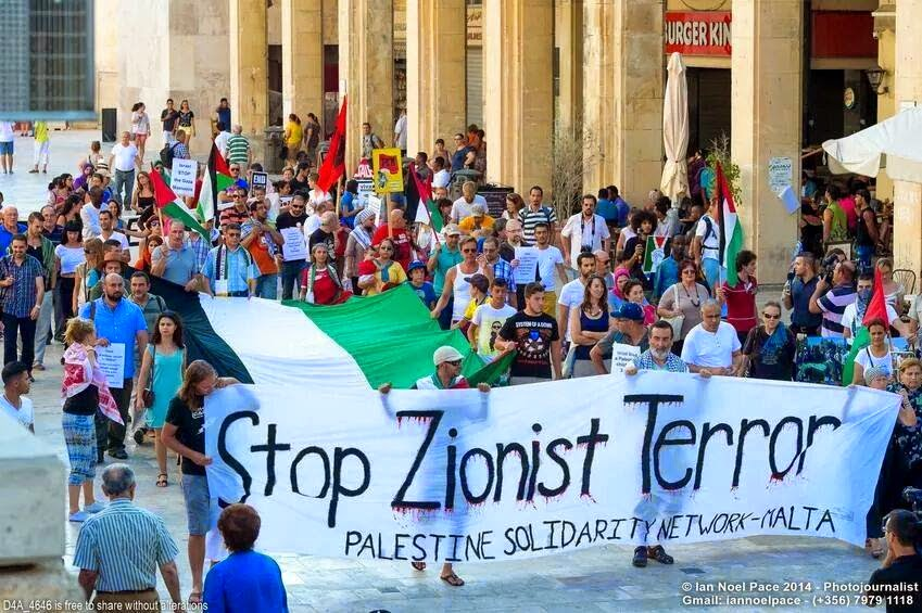 Zminijietna - Voice of the Left (Malta): Israel's continuous