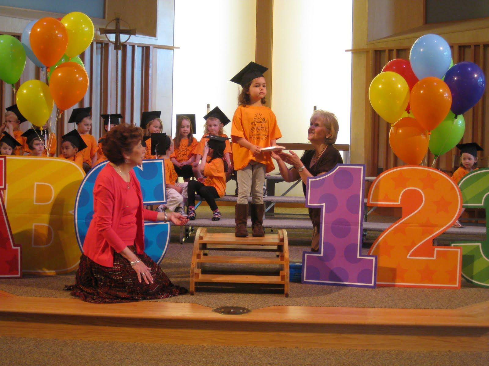 the ts  preschool graduation