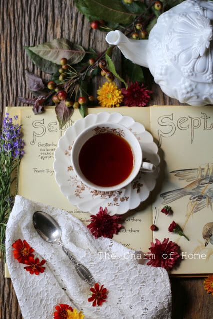 September Tea Journal: The Charm of Home