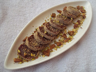 ANJEER-KHAJOOR ROLL / FIG-DATES ROLL / SUGAR-FREE FIG AND DATES ROLL