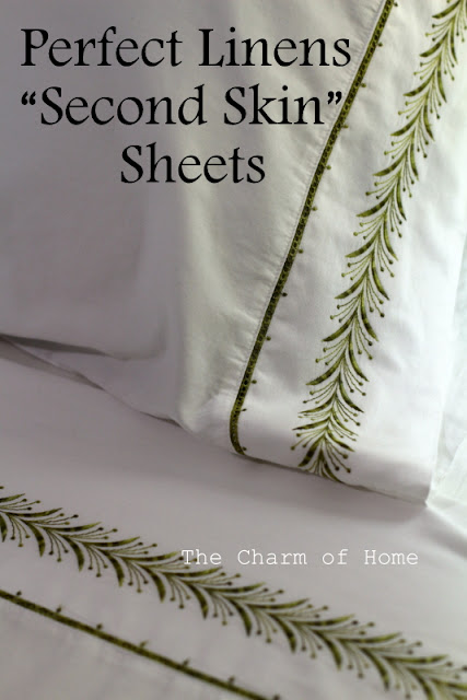 "Perfect Linens ""Second Skin"" Sheets: The Charm of Home"