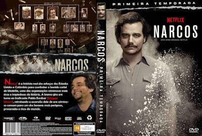 Série Narcos 1º Temporada DVD Capa