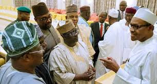 Buhari Meets APC Governors 24hrs After NewPDP Dumped Party