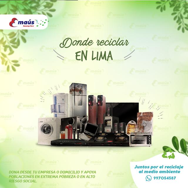¿Donde reciclar en Lima?