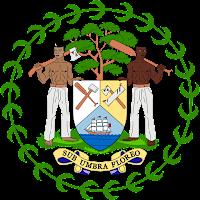Logo Gambar Lambang Simbol Negara Belize PNG JPG ukuran 200 px
