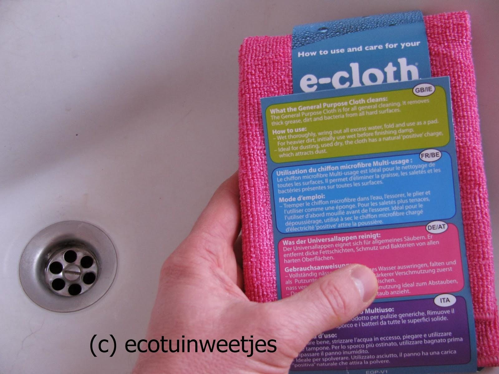 E-Cloth allesreinigende doek, microvezel
