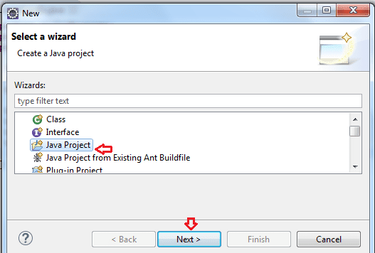 How to Create Java Project in Eclipse