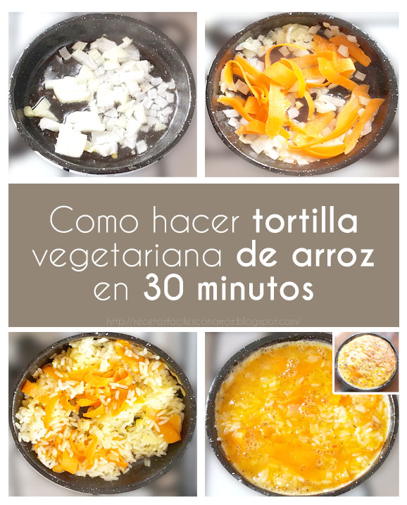 tortilla arroz fototutorial