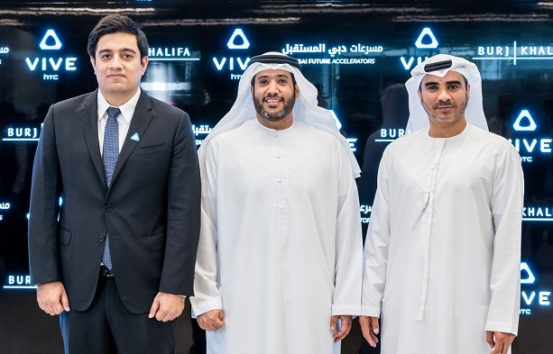 HTC Vive and Burj Khalifa collaborate for New VR Ecosystem, Inviting VR Content Creator Globally