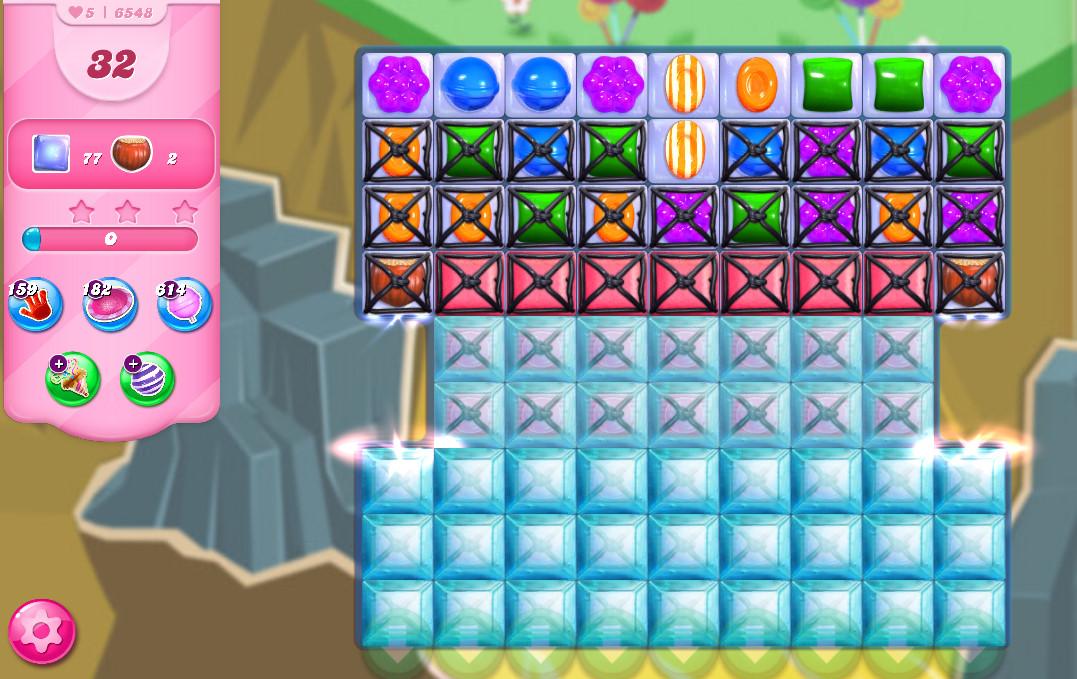 Candy Crush Saga level 6548