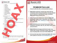 Hoax Lowongan Kerja PT Badak LNG