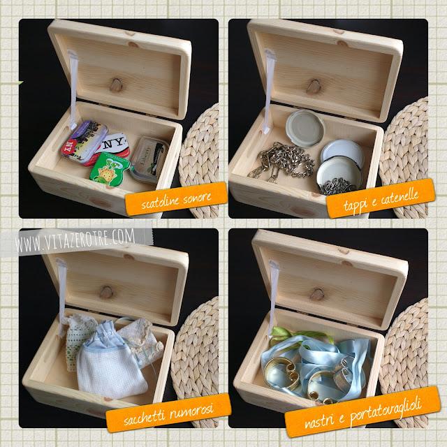 le scatole delle novità www.vitazerotre.com