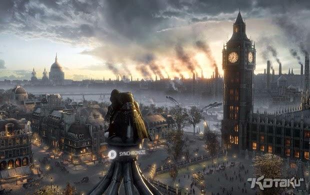 Imagem vazada na internet mostra torre do Big Ben em 'Assassin's Creed Victory'