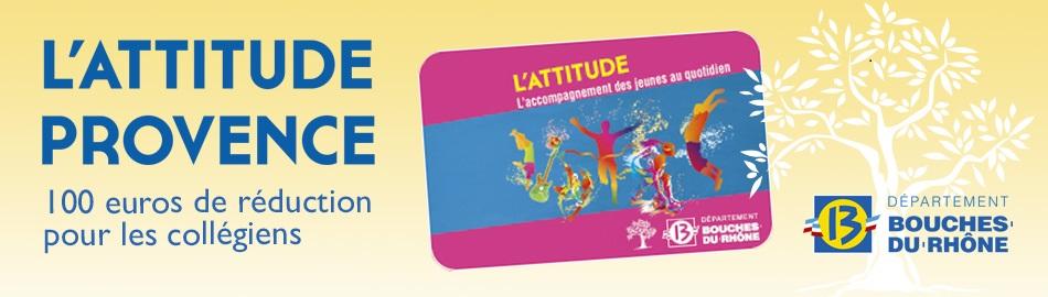 Ulis du collège Anatole France: Carte L'Attitude Provence