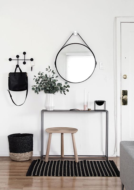 Scandimagdeco le blog id e d co le miroir rond for Deco miroir rond