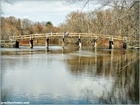Patriots´ Day en Concord: North Bridge