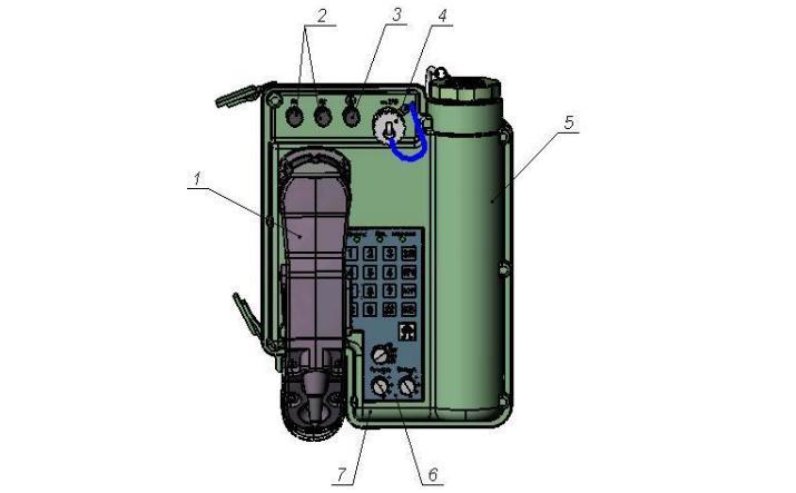 Апарат телефонний польовий аналоговий ТА-01