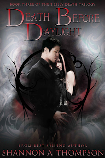 Death Before Daylight, Shannon A. Thompson, TBR