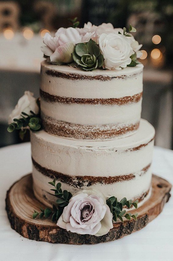 Top 16 Rustic Style Wedding Cakes for Your Country Wedding Themes ...