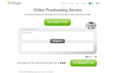 Ginger Online Proofreader