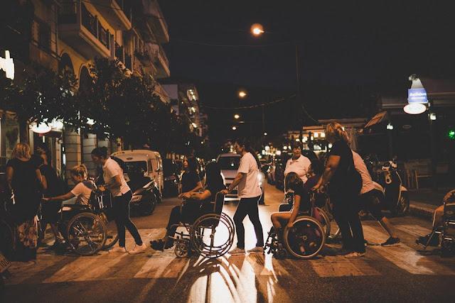 Πόσο δύσκολο είναι για κάποιον με κινητικά προβλήματα να κάνει μια βόλτα στην Ηγουμενίτσα; (ΒΙΝΤΕΟ)