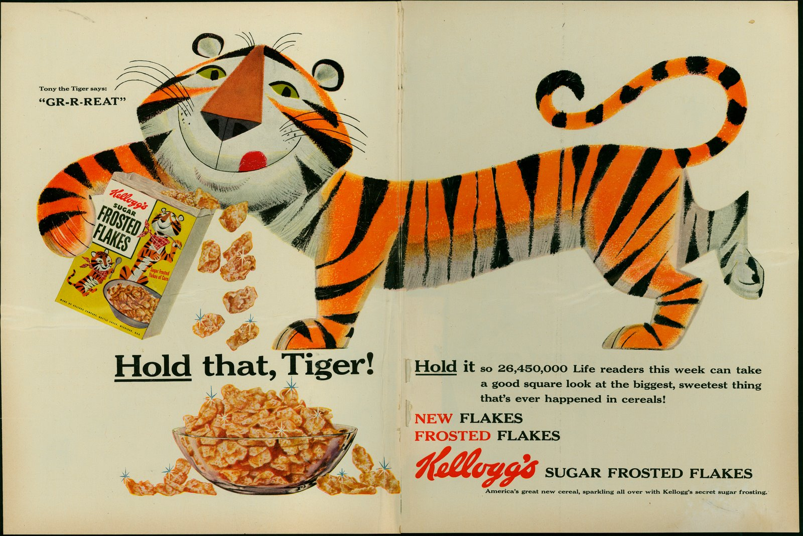 mike lynch cartoons the first tony the tiger
