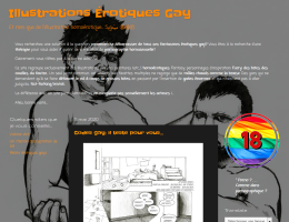 Illustrations érotiques gays