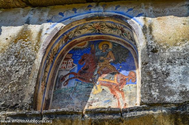 St. Dimitrij, Chebren Monastery, Mariovo, Macedonia