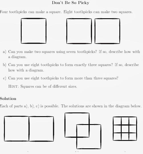 Math League Blog: Math POW Solution