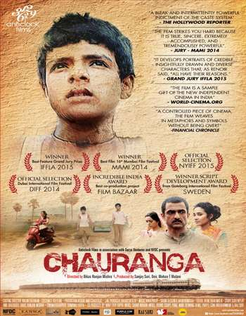 Poster Of Chauranga 2016 Hindi 720p WEBRip ESubs Watch Online Free Download Worldfree4u