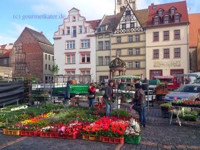 Merseburger Blumenmarkt