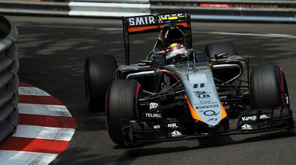 Coche Checo Pérez F1