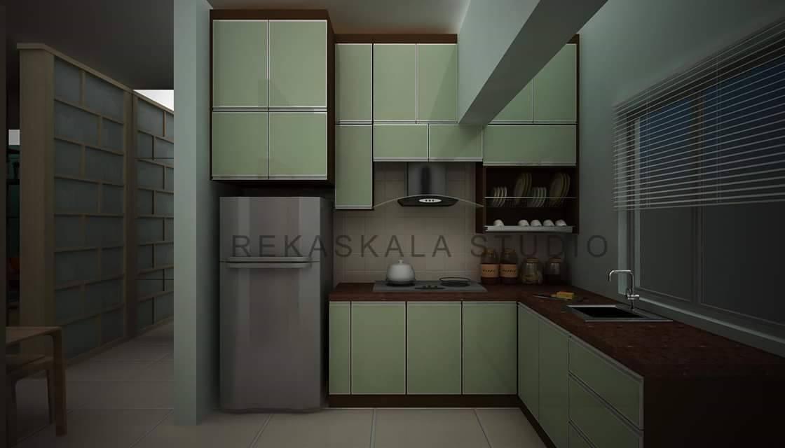Rekabentuk Kabinet Dapur Untuk Ruang