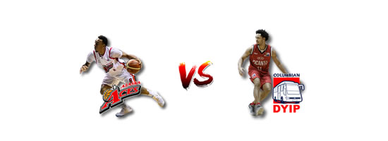 May 4: Alaska vs Columbian, 4:30pm Smart Araneta Coliseum