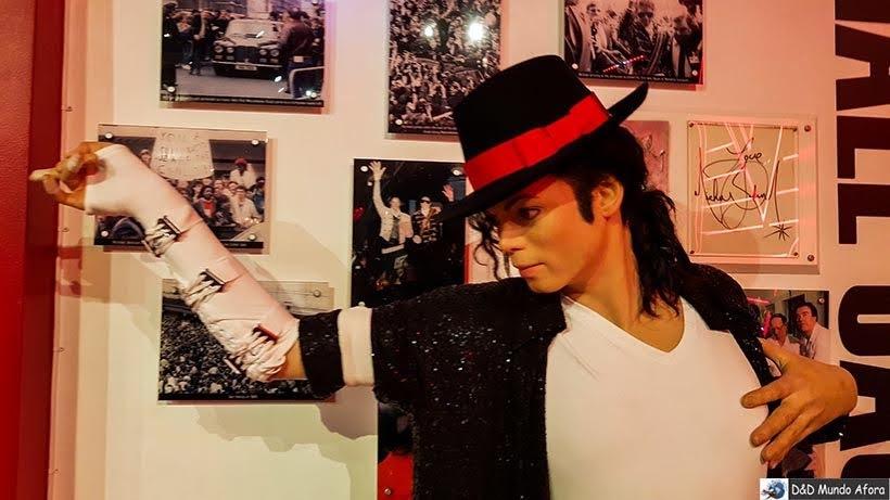 Michael Jackson - Madame Tussauds: Como visitar o museu de cera de Londres