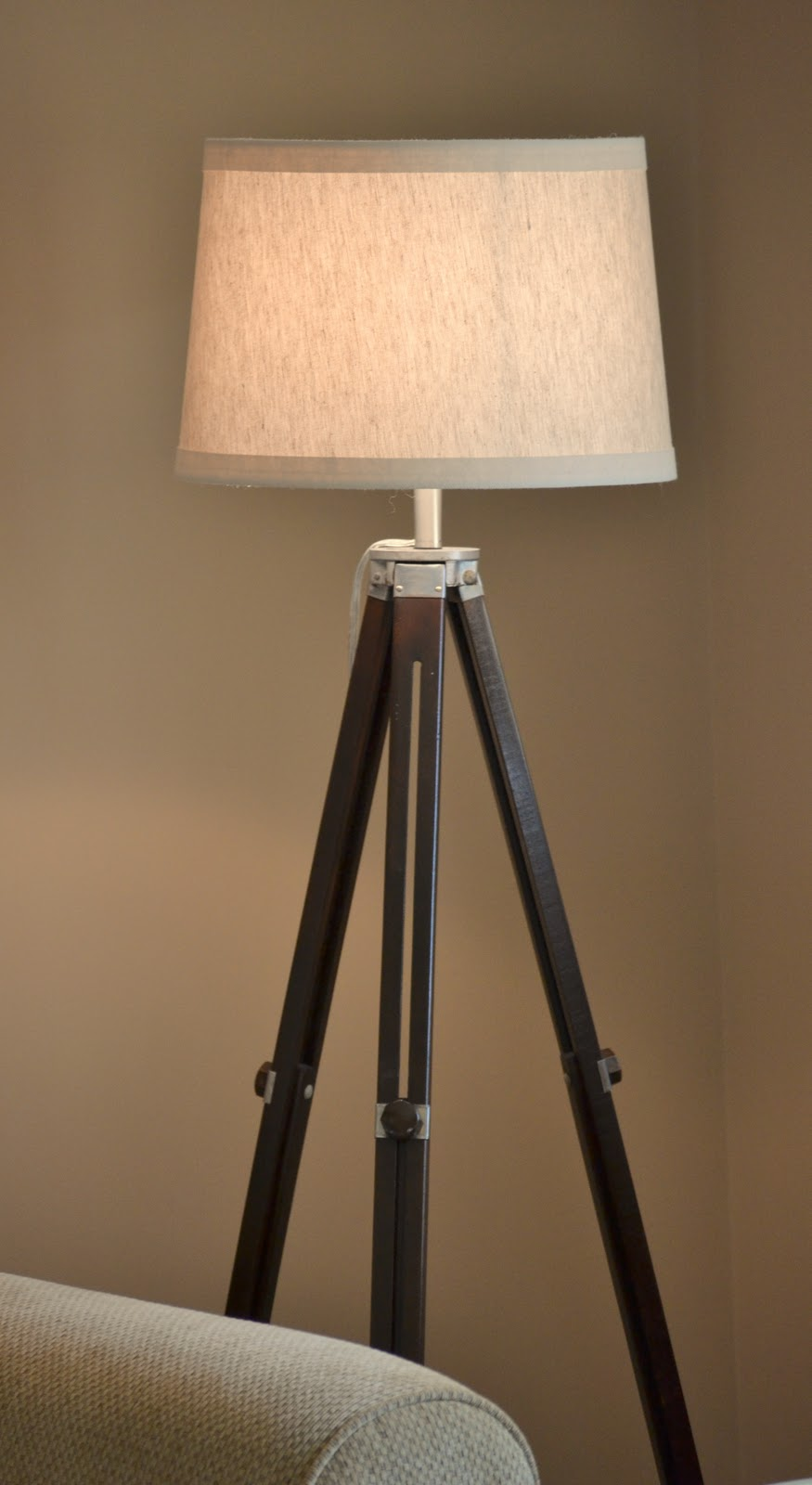 Dwelling In The Word: Dwelling Cents: Tripod Lamp