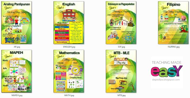 Grade 1 4th Quarter Bulletin Boards